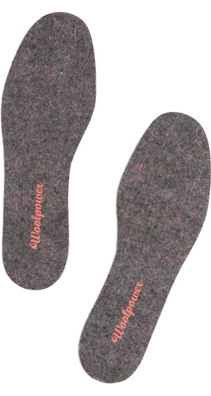 Woolpower Felt Insoles Unisex recycle grey
